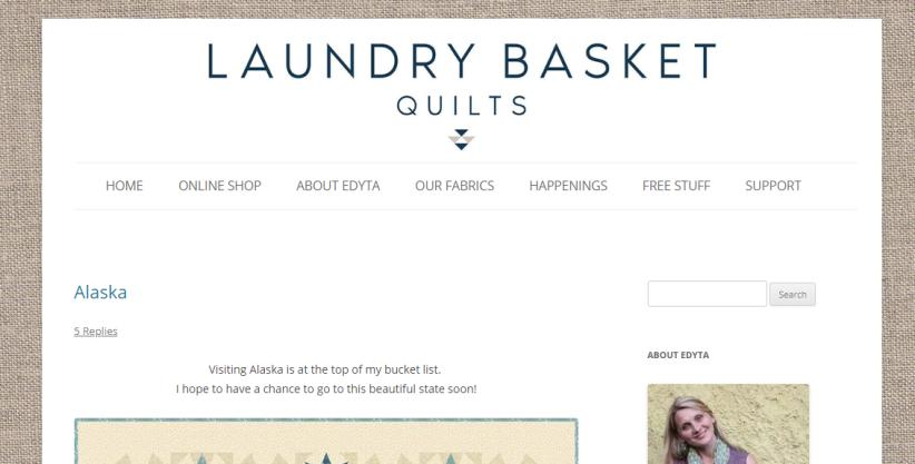 Laundry Basket Quilts for quilters