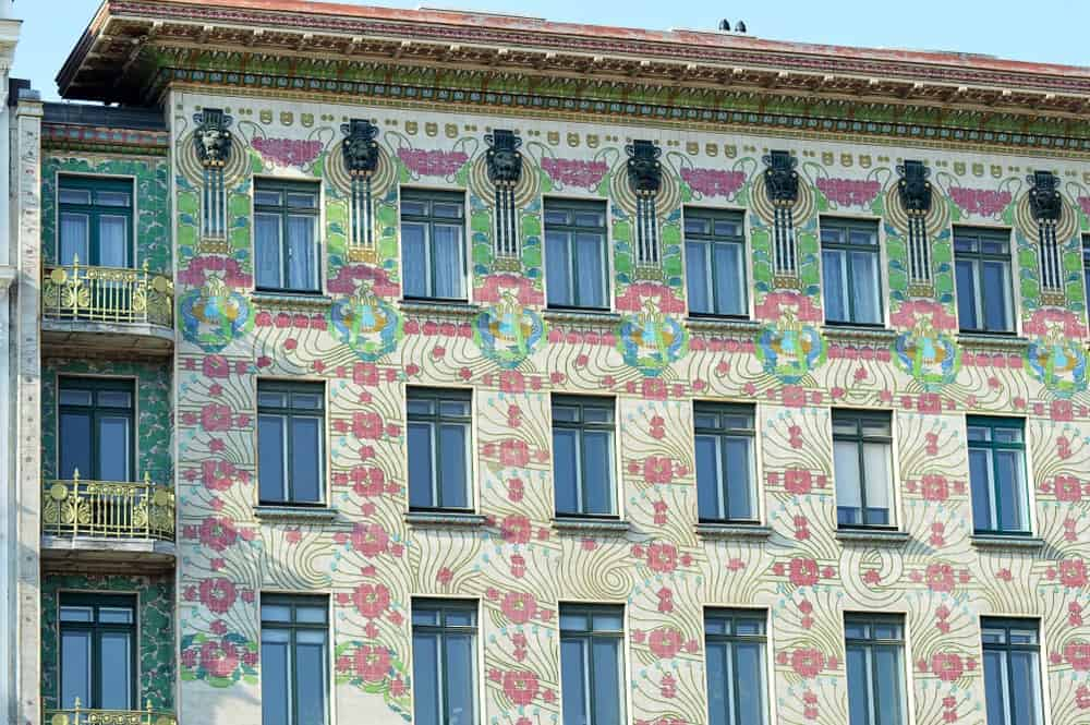 Majolica House by Otto Wagner