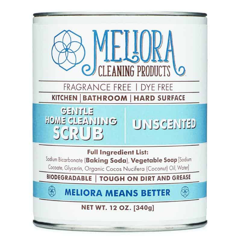 Meliora Gentle Home Cleaning Scrub