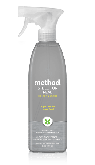 Method Steel for Real Stainless Steel Polish