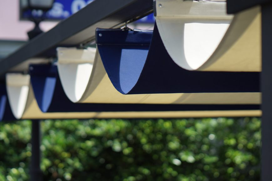 Retractable Awning Outdoor Patio Shades