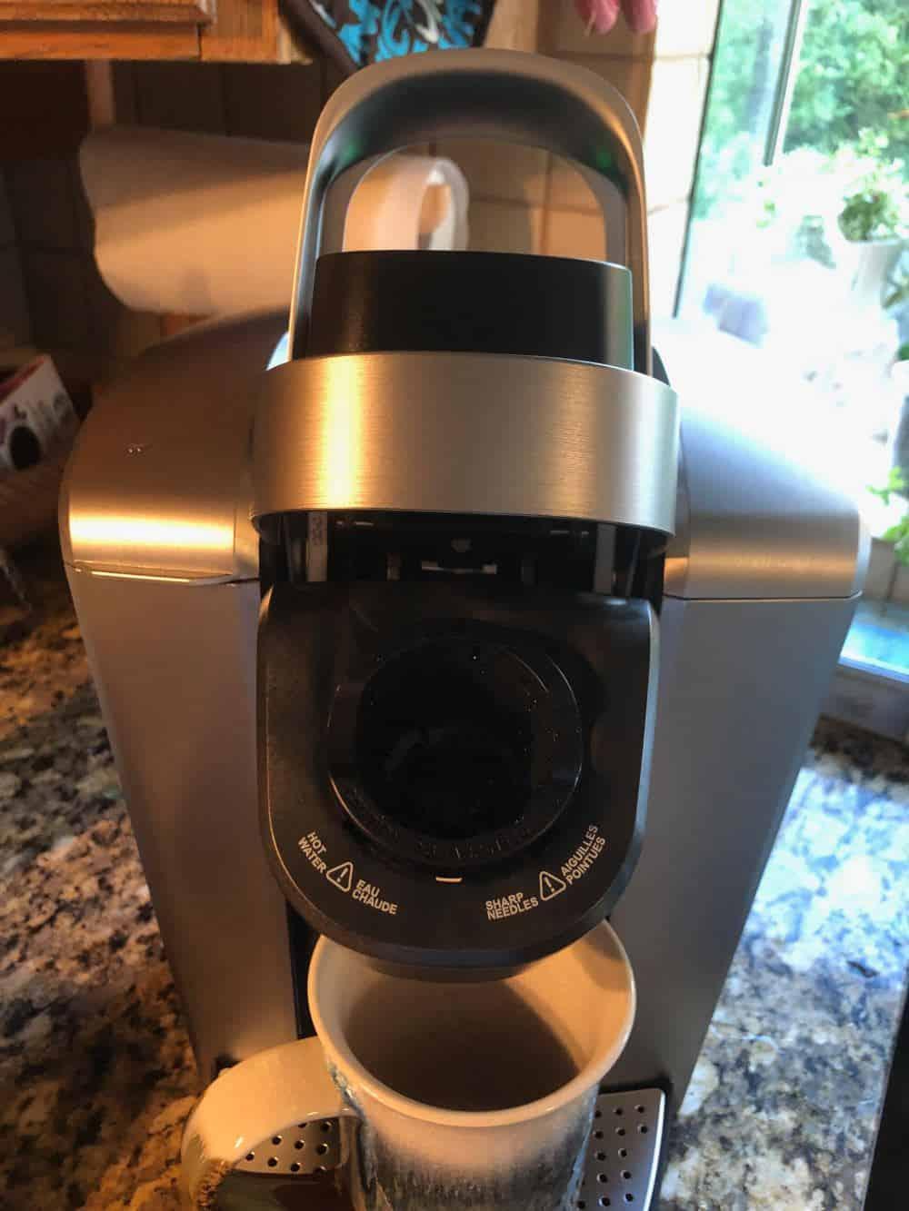 Photo of k-cup holder for Keurig K-Elite coffee maker