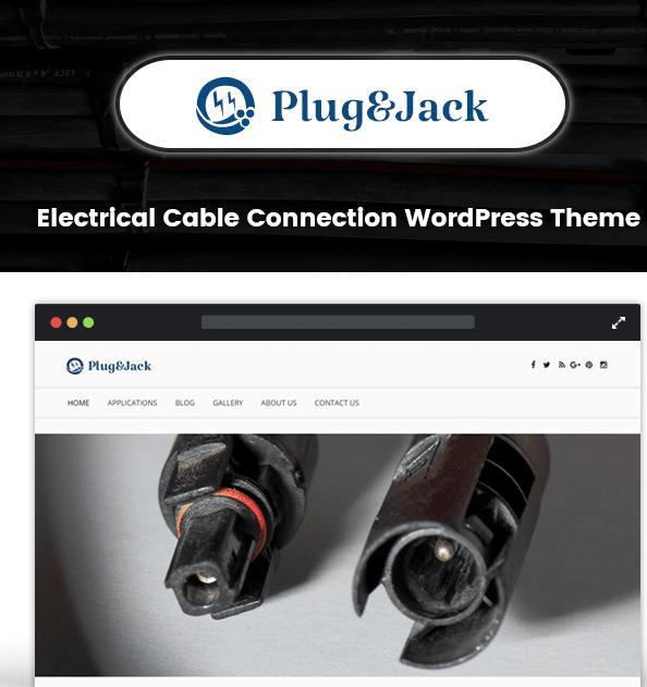 Plug&Jack WordPress Theme