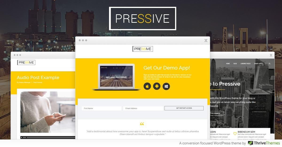 Pressive WordPress Theme for Electricians