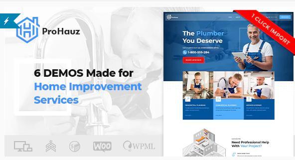ProHauz – best plumbing theme
