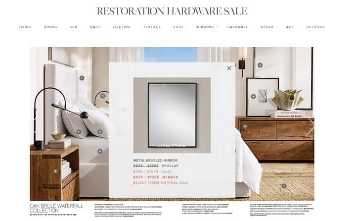 RH Beach House website