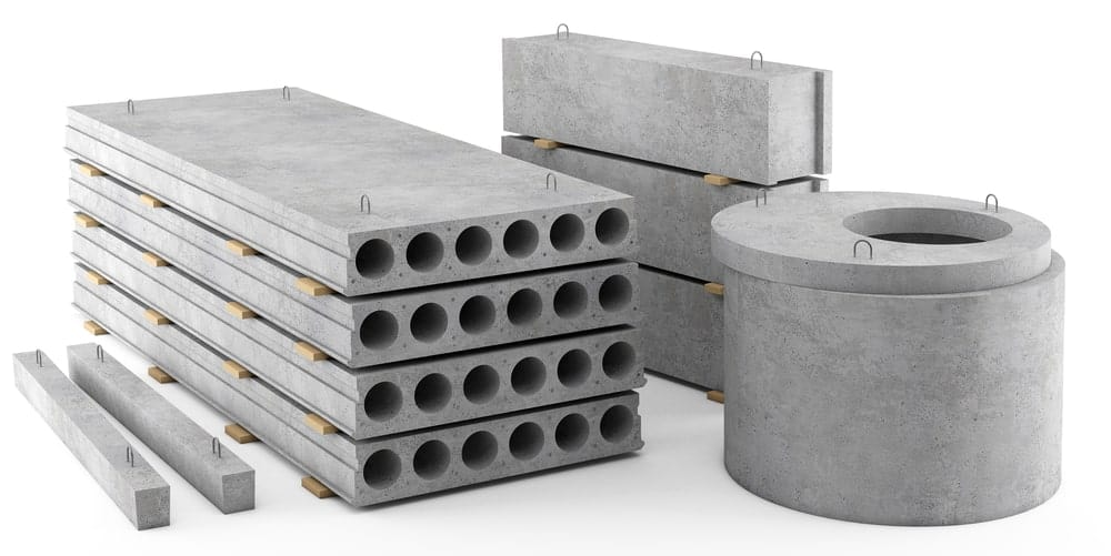 Reinforced concrete bars