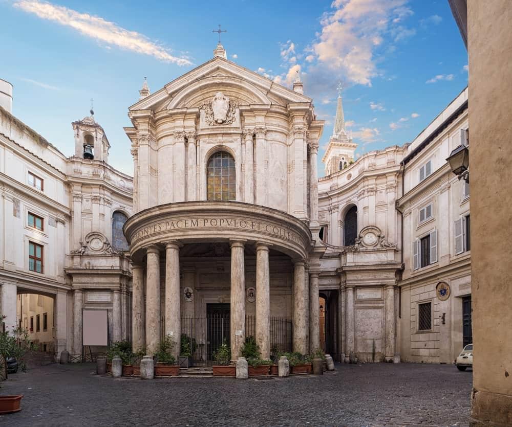 Santa Maria Della Pace Church in Italy