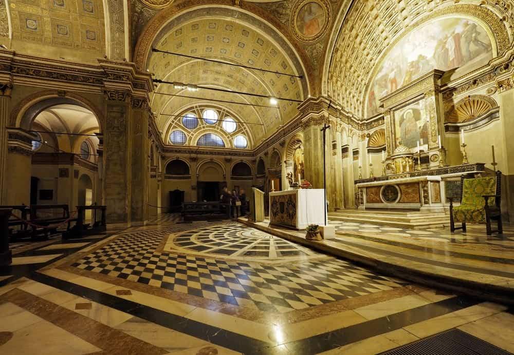Santa Maria presso San Satiro in Milan