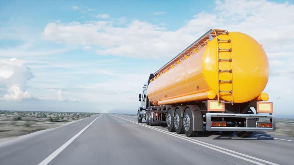 Gasoline transport specialty trailer