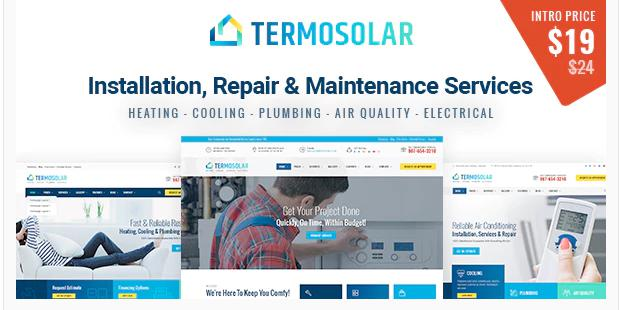 Termosolar – Heating, Cooling, Plumbing, Air Quality, and Electrical