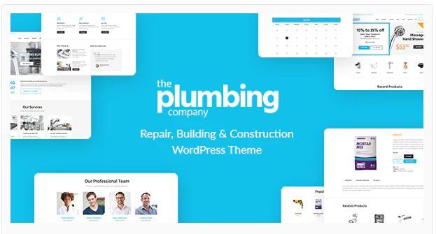 WordPress Theme – the Plumbing Company