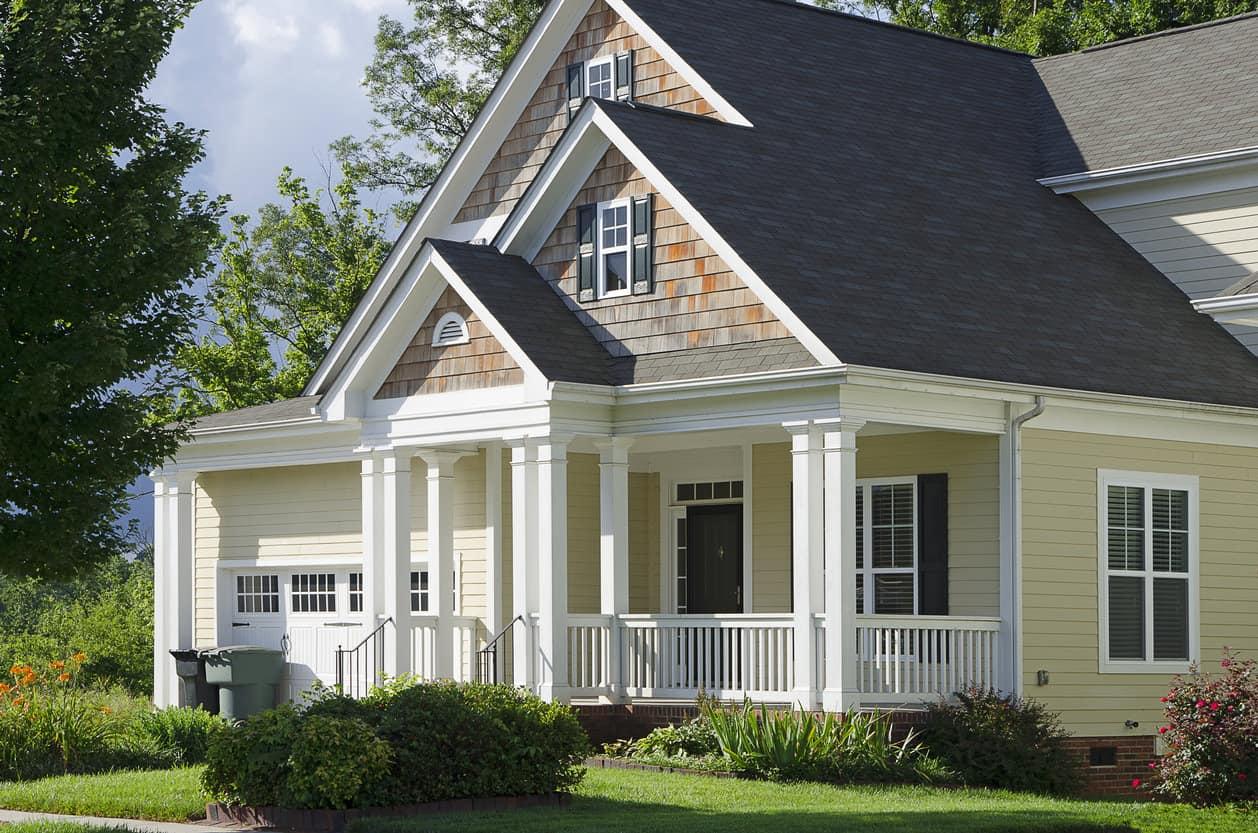 Victorian style bungalor house