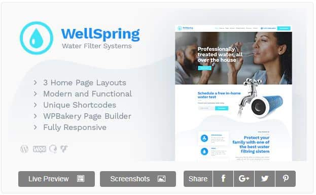 WellSpring – WordPress Theme