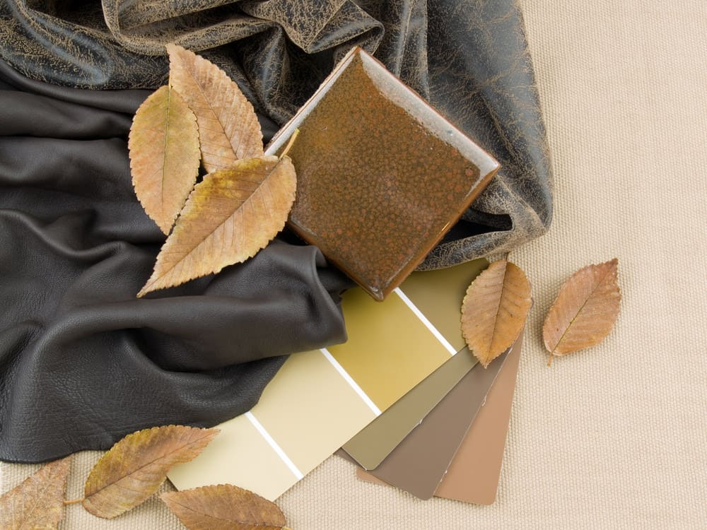earth tones swatches