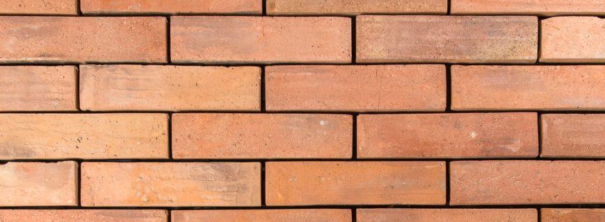 Plain shot of the terracotta brick tiles flooring.