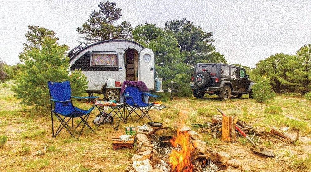 nuCamp RV camper