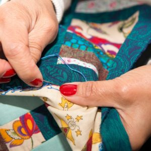 Making a quilt