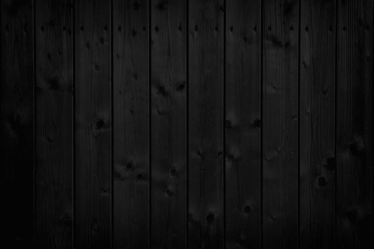 Examnple of a black wall