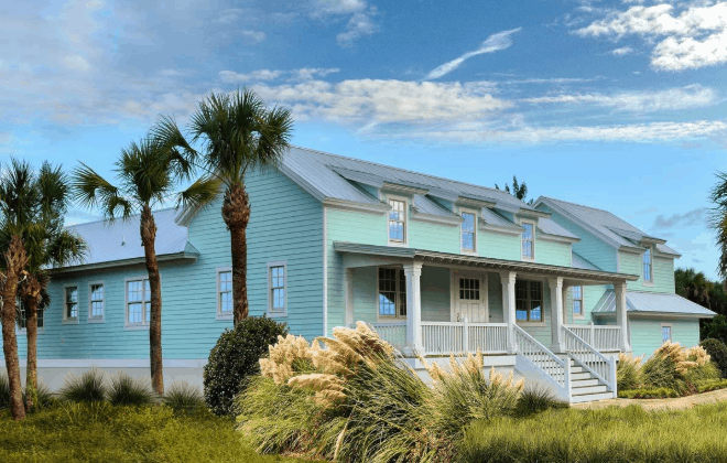 Exterior photo of beach house