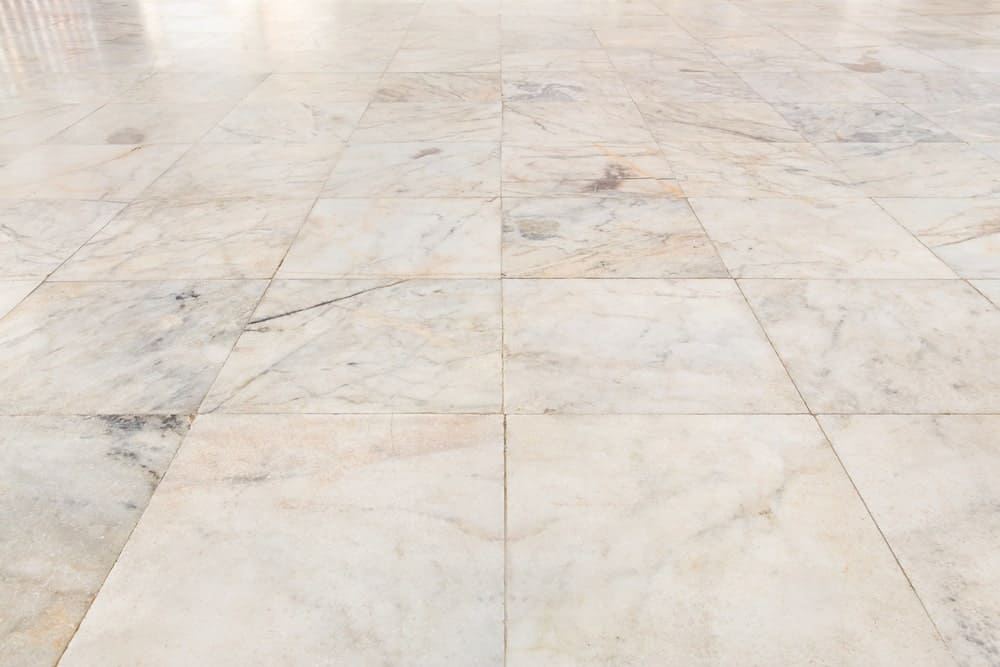 Flooring tiles made using marble stone