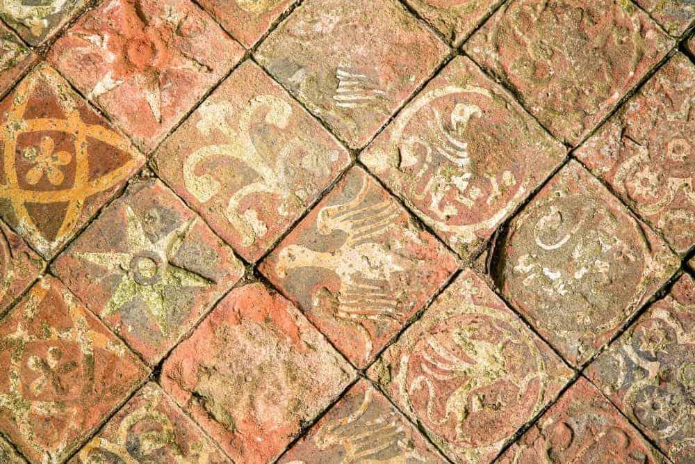Quarry tiles flooring application