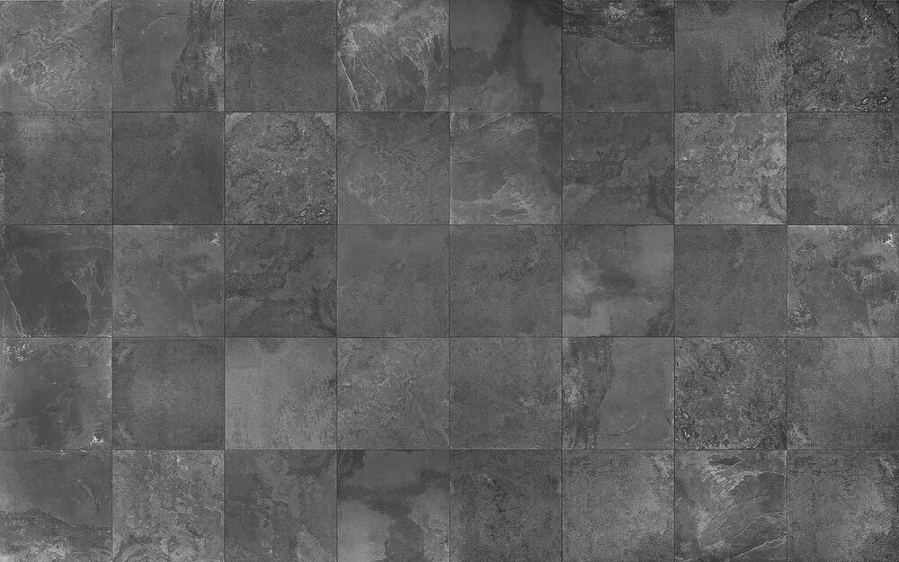 Slate tile flooring