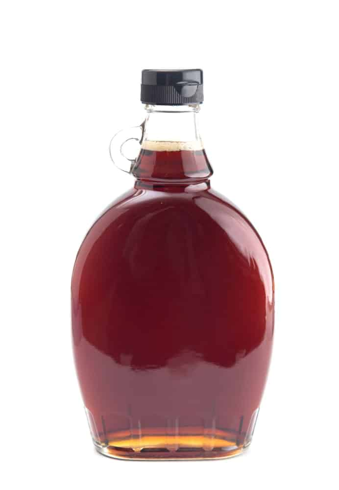 Maple syrup grade B