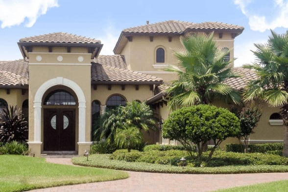 Mediterranean style house exterior photo aug30