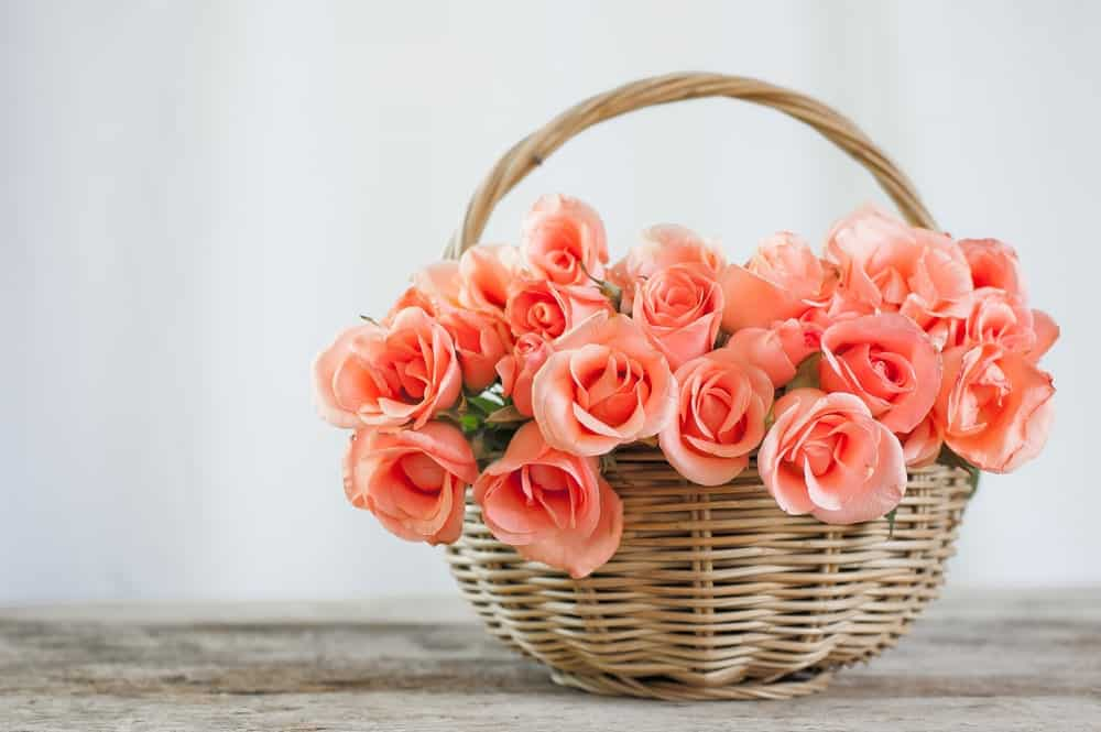 Basket of bouquet
