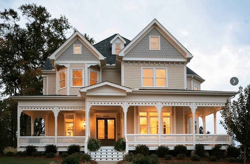 Photo of exterior Victorian house