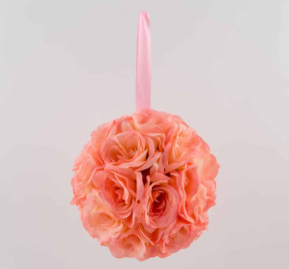 Round orange bouquet