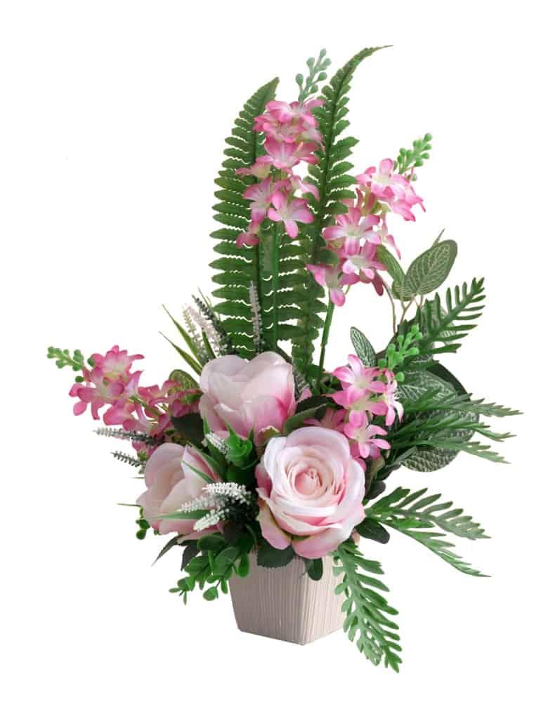 Vertical flower arrangements
