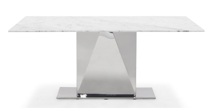 BIANCO 71 INCH DINING TABLE