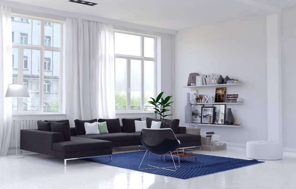 living room sectional sofa no coffee table