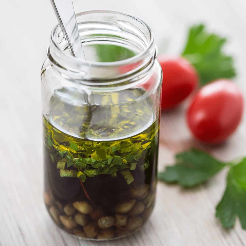 Love the tangy taste of pickled veggies? You'll love parsley the vinaigrette way.