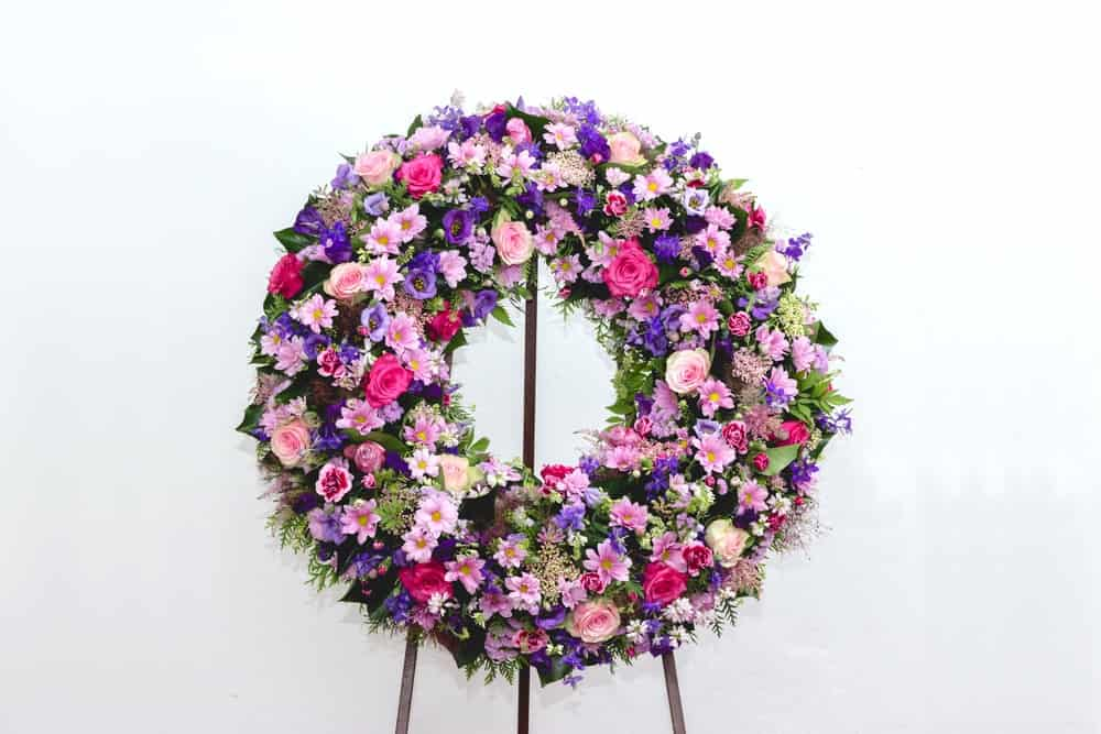 A Lovely Funeral Wreath
