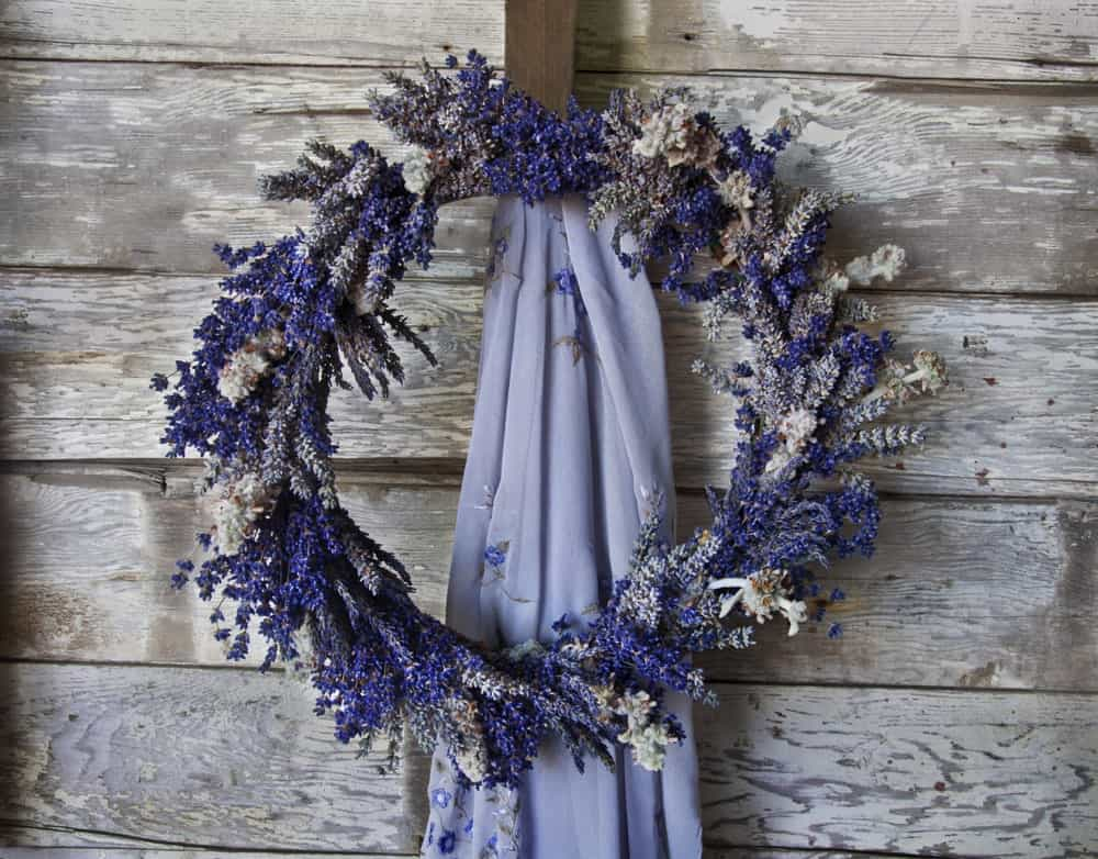 A Lovely lavender Wreath