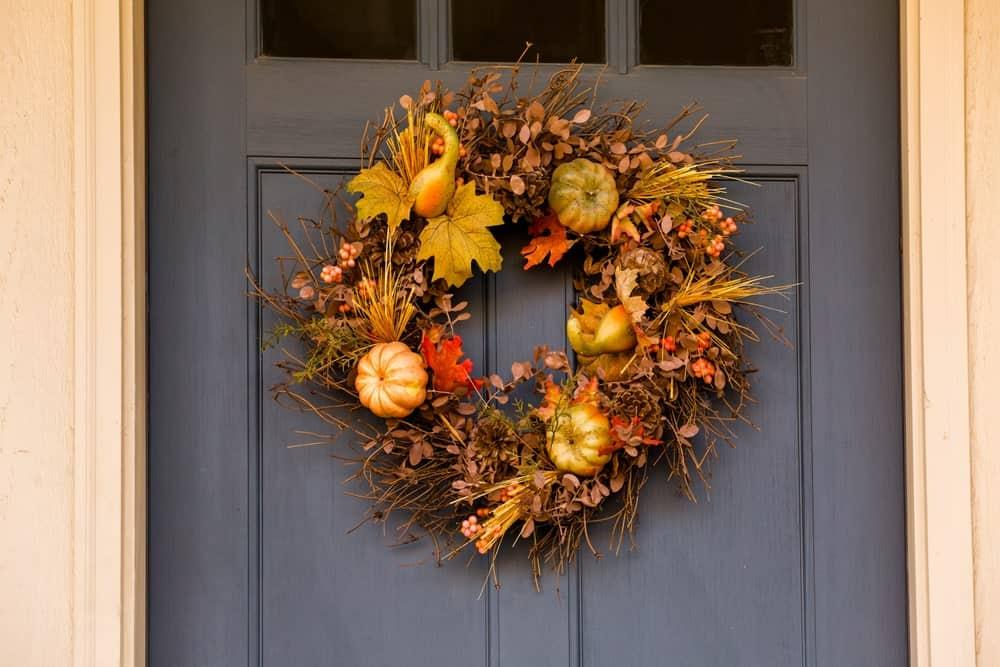A Beautiful Autumn Wreath