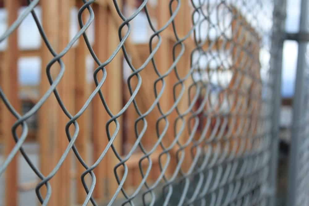 Wooden Framed Chain Link Fences