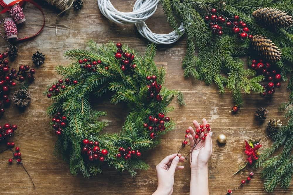 The Creation of Christmas Wreath