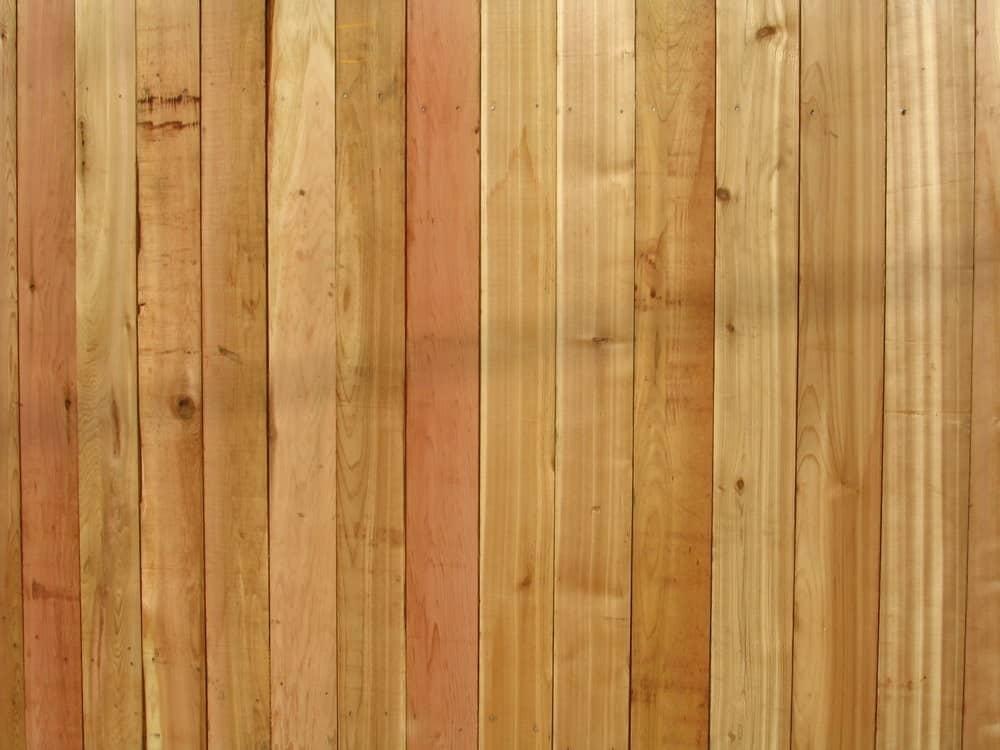 Red Cedarwood Fence