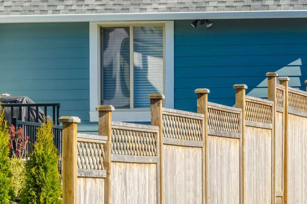 White Cedar Tree Fences