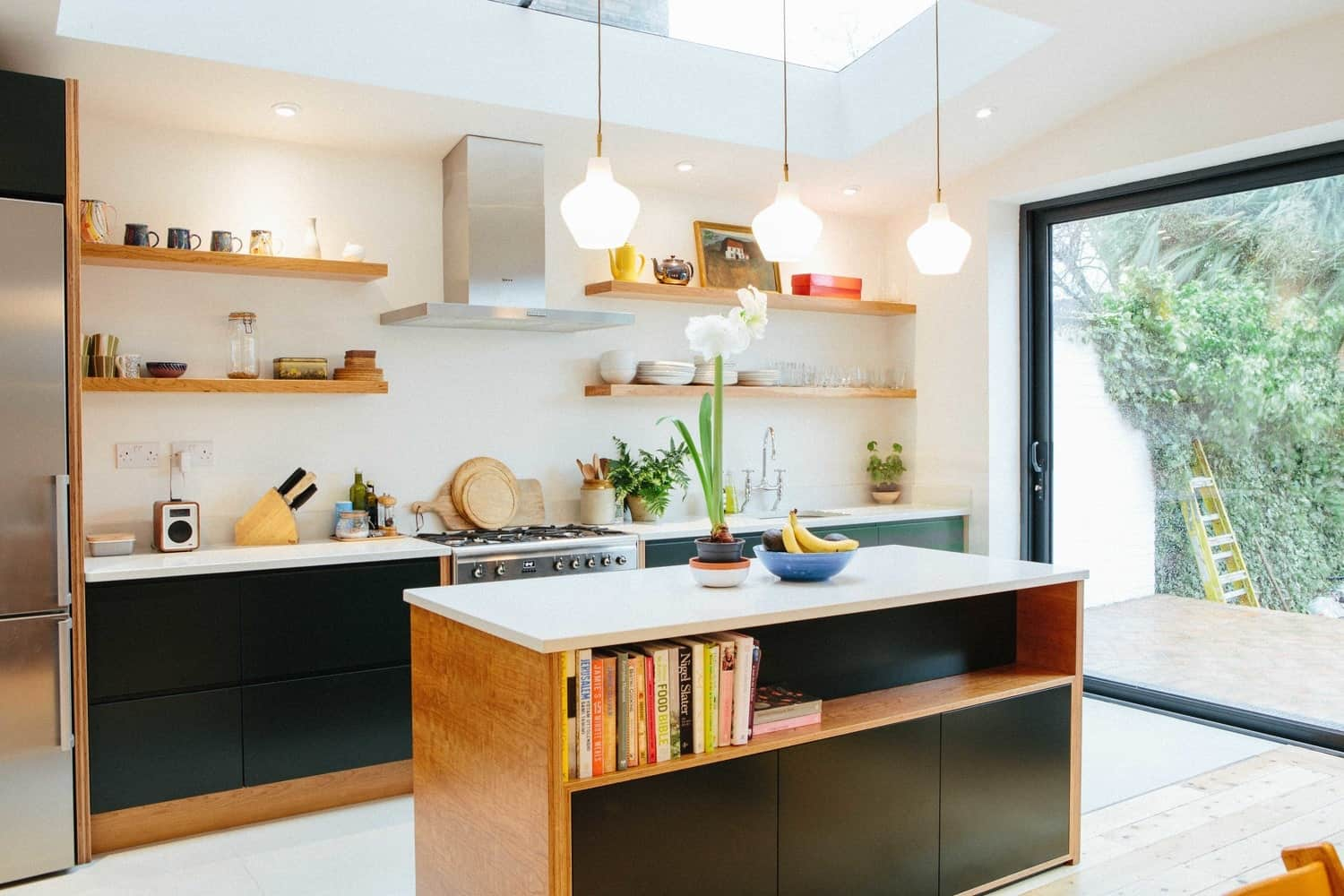 West Dulwich kitchen design by West & Reid.