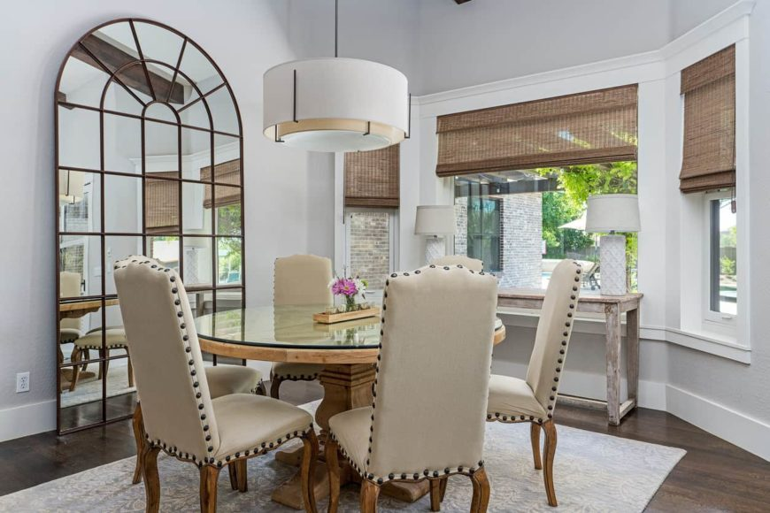 50 Dining Rooms With Round Dining Tables Photos Home Stratosphere
