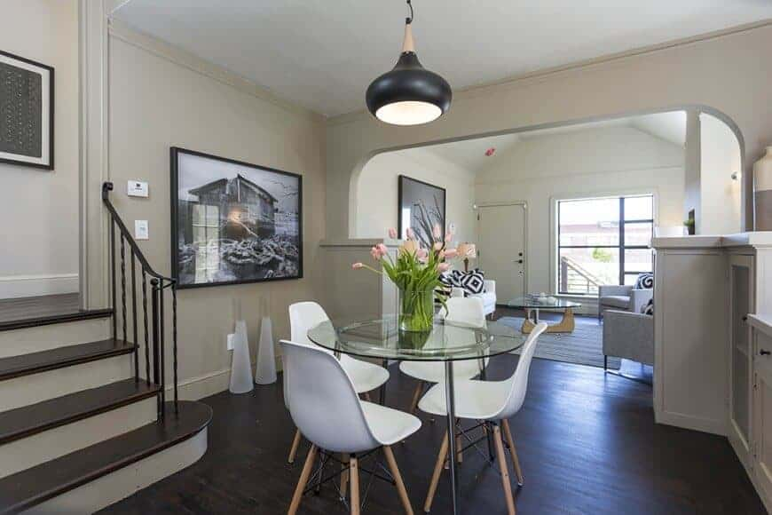 50 Dining Rooms With Round Dining Tables Photos