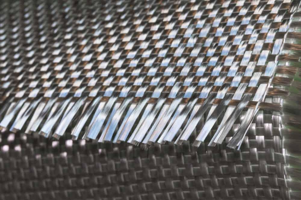 Matériau de rouleau composite en tissu de fibre de verre