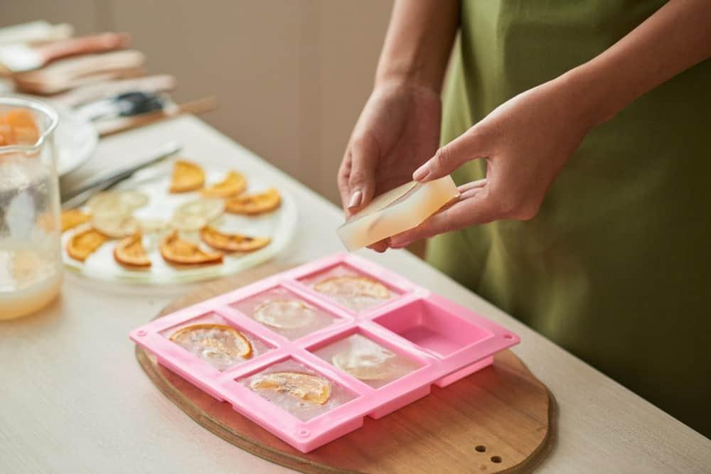 Soap-making process