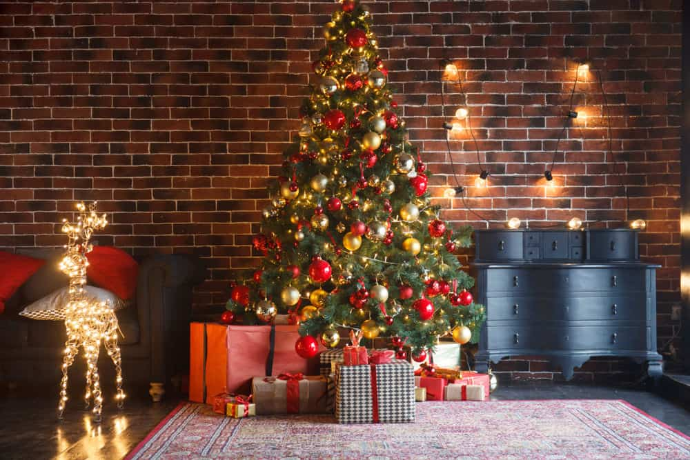 Classically decorated Christmas Tree