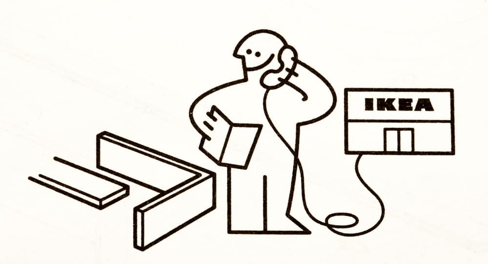 Illustration of IKEA assembly contractor